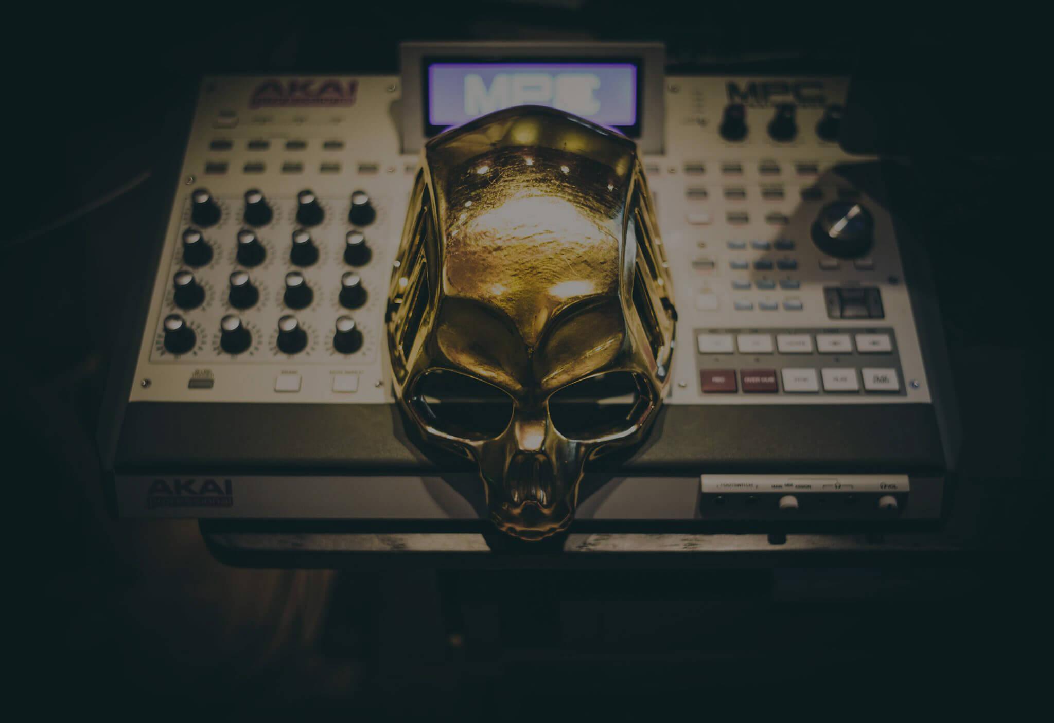 Das goldene Drumkit